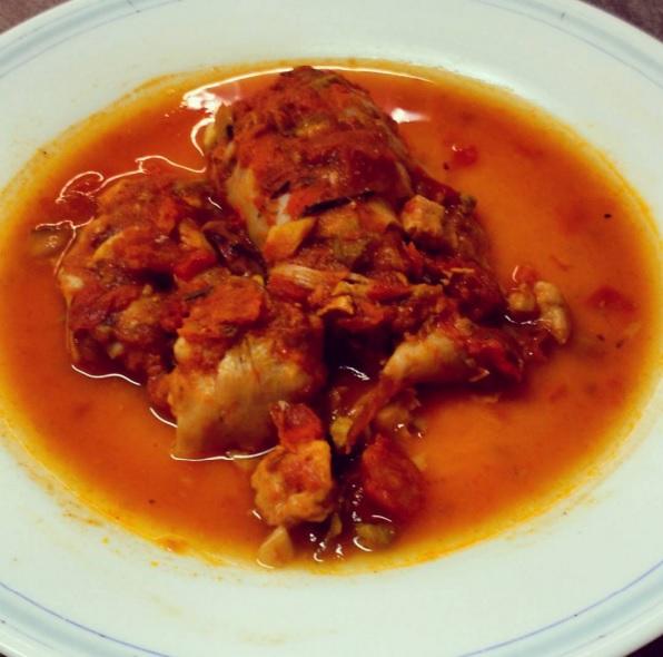 Calamares rellenos de pollo rouse cocinillas - Limpiar calamares pequenos ...