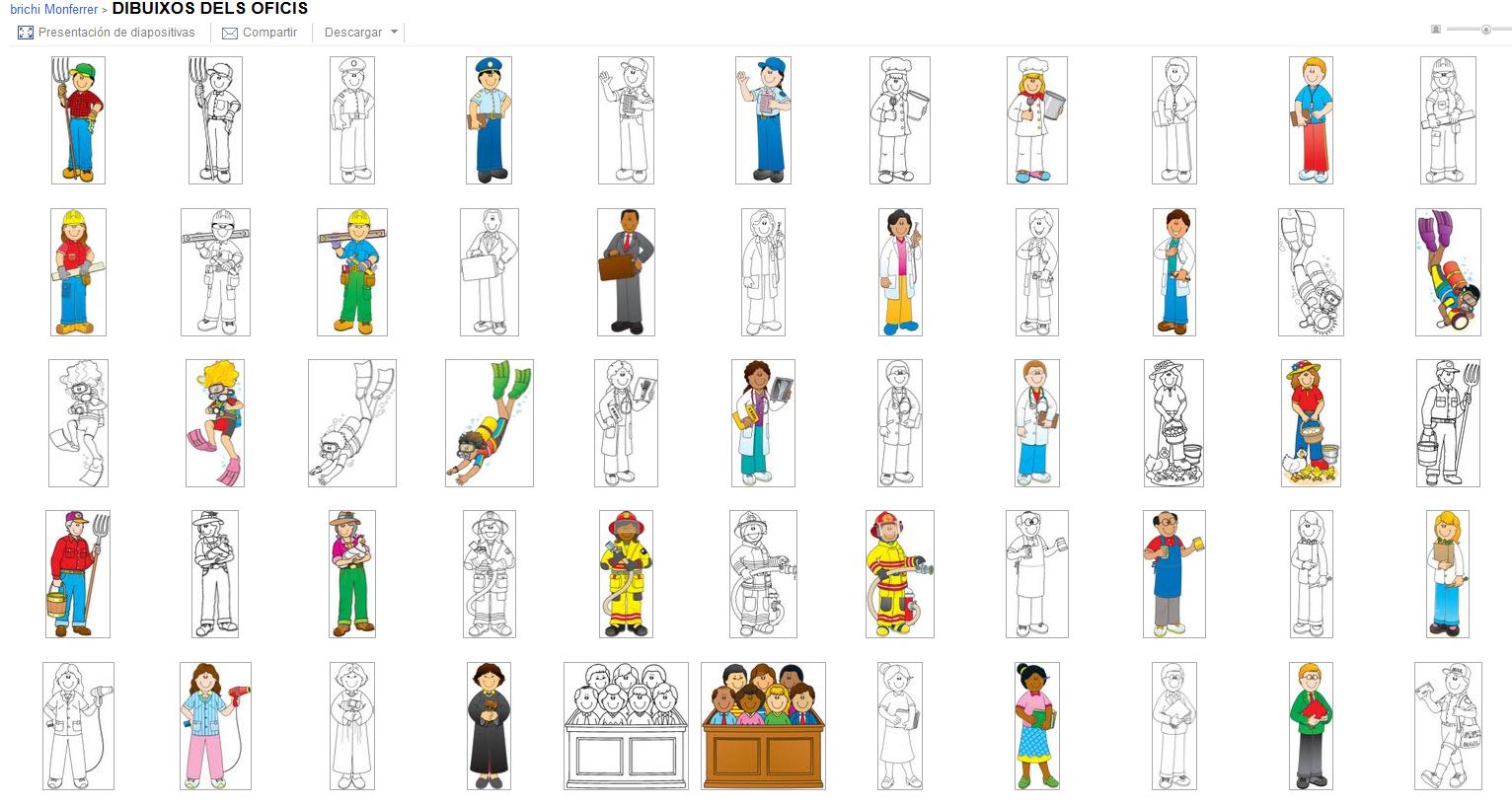 Material de Isaac para Educacion Especial: IMAGENES DE LOS OFICIOS ...