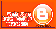 Segmen Review Blogger Of the year 2013