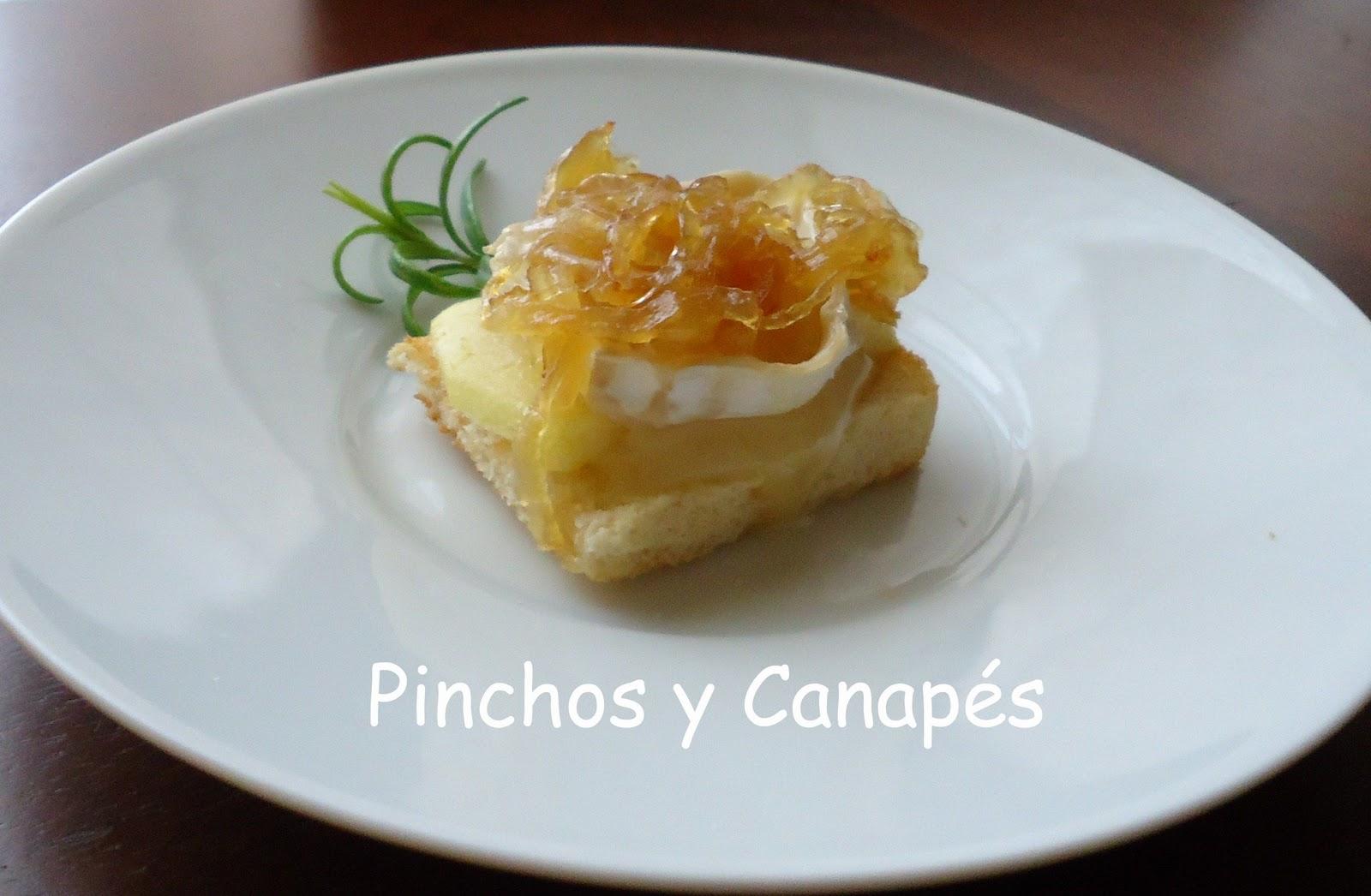 Pinchos y canap s for Canape queso de cabra