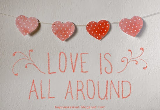 Free Valentine's Day Printables from Happiness is...