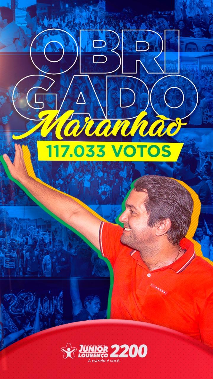 DEPUTADO FEDERAL ELEITO JUNIOR LOURENÇO