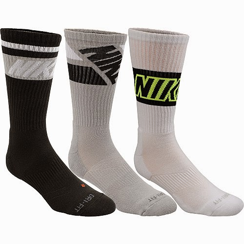 Sports authority coupon 25%: NIKE Dri-FIT Fly Rise Crew Socks