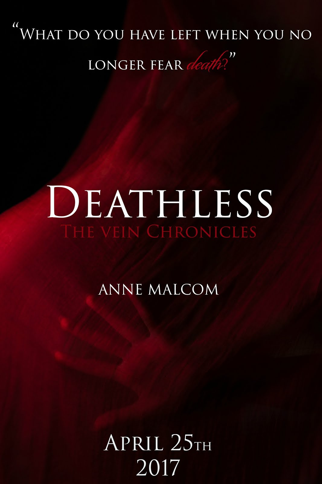 Deathless Cover Reveal