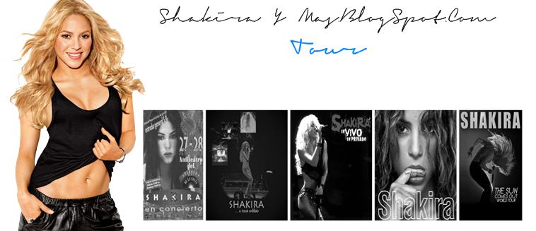 Shakira Y Mas | Fechas Tour Sale El Sol
