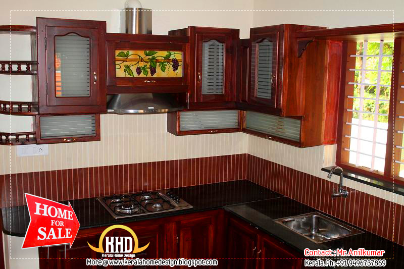 Attractive House For Sale In Kerala Kitchen View