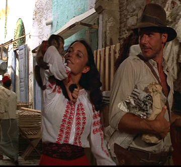 Indiana Jones Marion Satin Dress