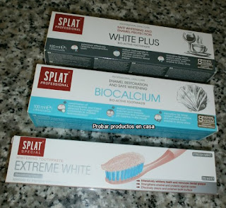 Splat extreme White, Biocalcium, White Plus