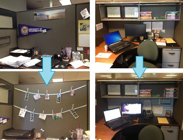 Post Grad Crafting My Cubicle Remodel