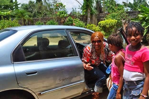 Photos Regina Askia's Visit to Nigeria