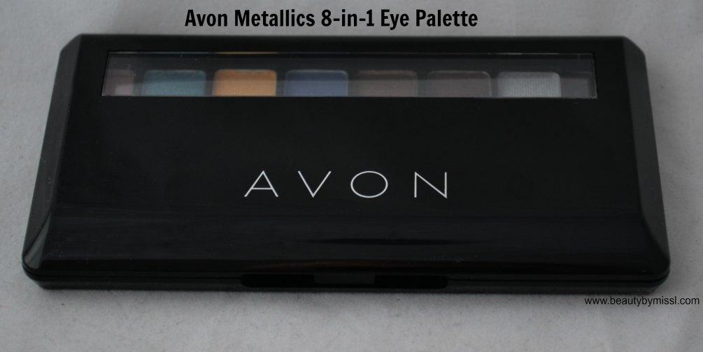 Avon Metallics 8-in-1 Eye Palette