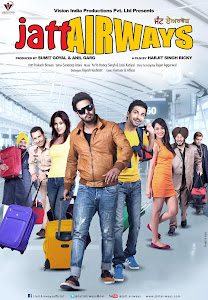 Poster Of Jatt Airways (2013) Full Punjabi Movie Free Download Watch Online At worldfree4u.com