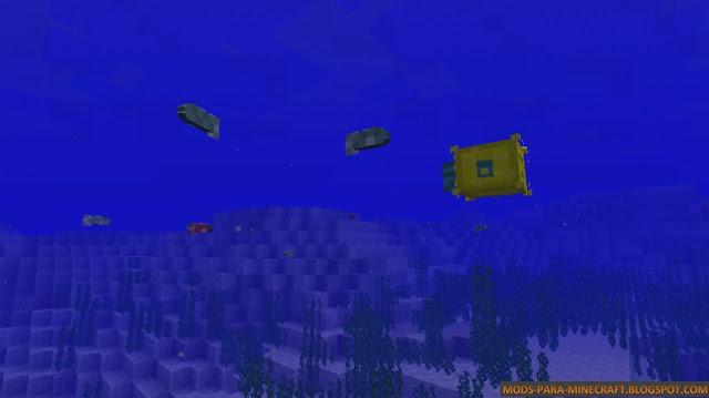 Más peces con el Mod AlgaeCraft 1.7.10