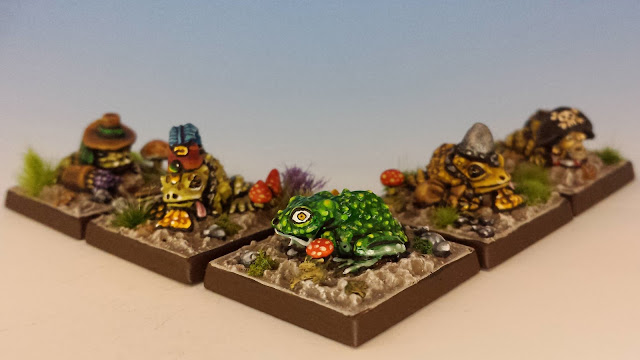 Talisman Toads, Citadel (sculpted by Aly Morrison, 1986-1987)