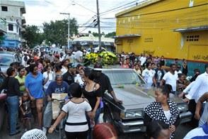 """Obligaron cierre de negocios en ruta del funeral de """"Boyón"""""""