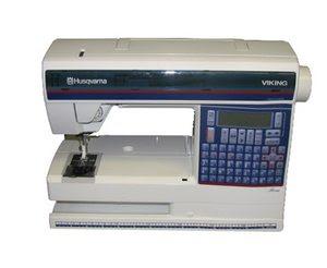 Tidligere symaskiner