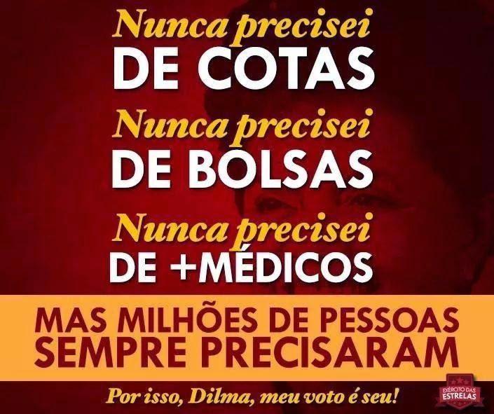 Eu voto Dilma