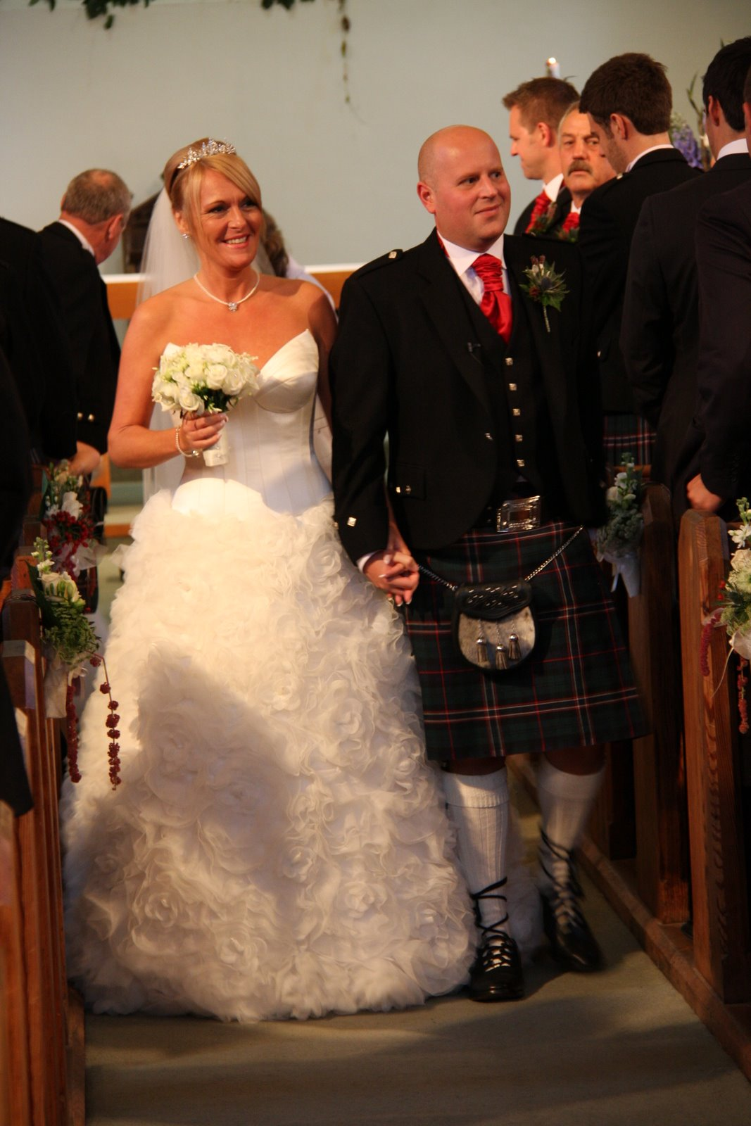 A Little Preview Posting of Paula & Andrew\'s October Wedding Day