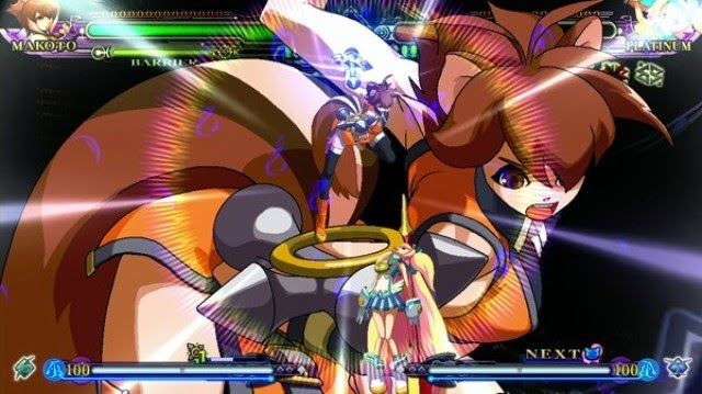 BlazBlue Continuum Shift Extend PC Gameplay