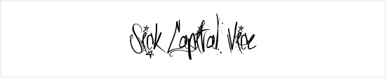 Free Graffiti Fonts - Sick Capital