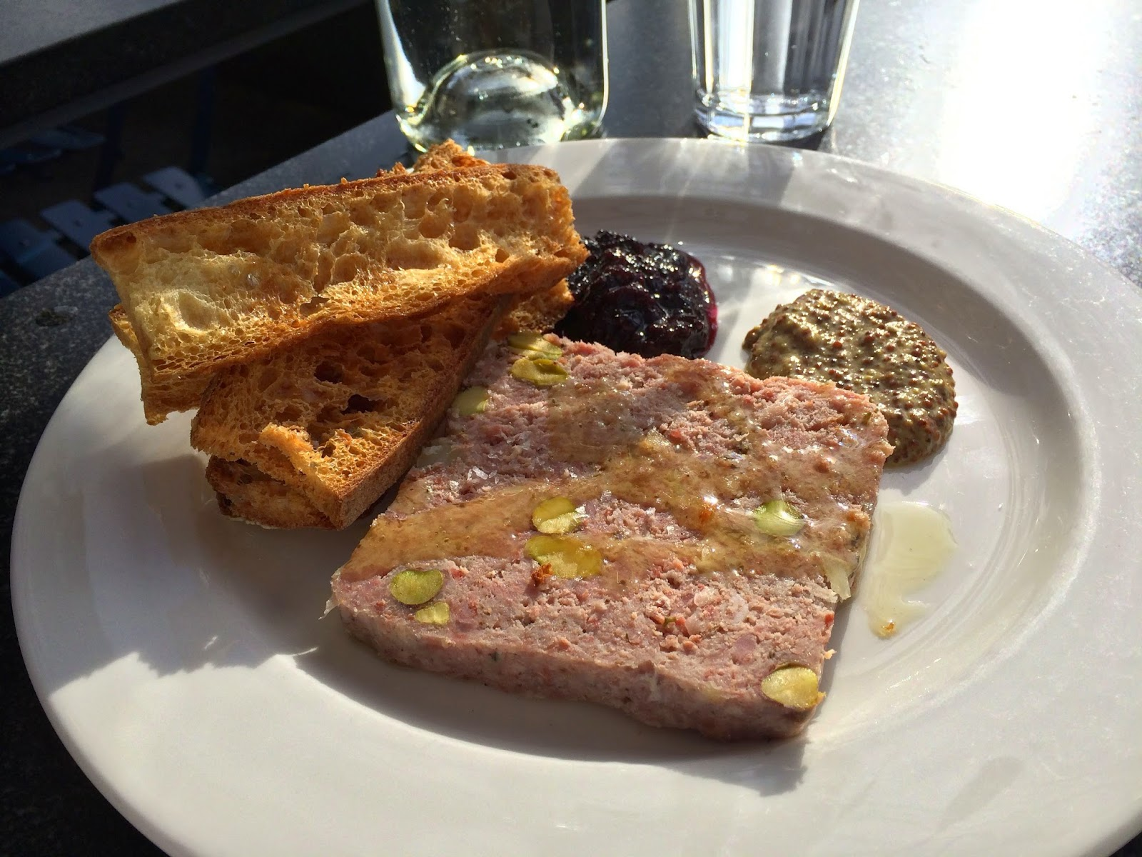 Serrano Ham Terrine at The Whale Wins, Seattle