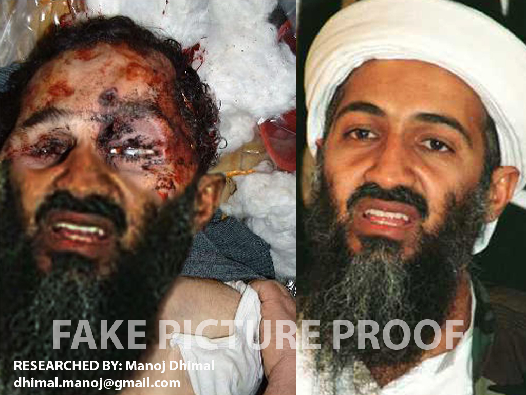 Osama Bin Laden Real Dead Body