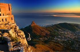 La Table Mountain - Cape Town (Sudafrica) - Le Meraviglie della Natura