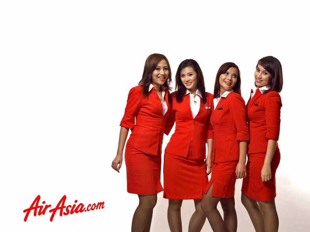 AirAsia flight attendants group adv ~ World stewardess Crews