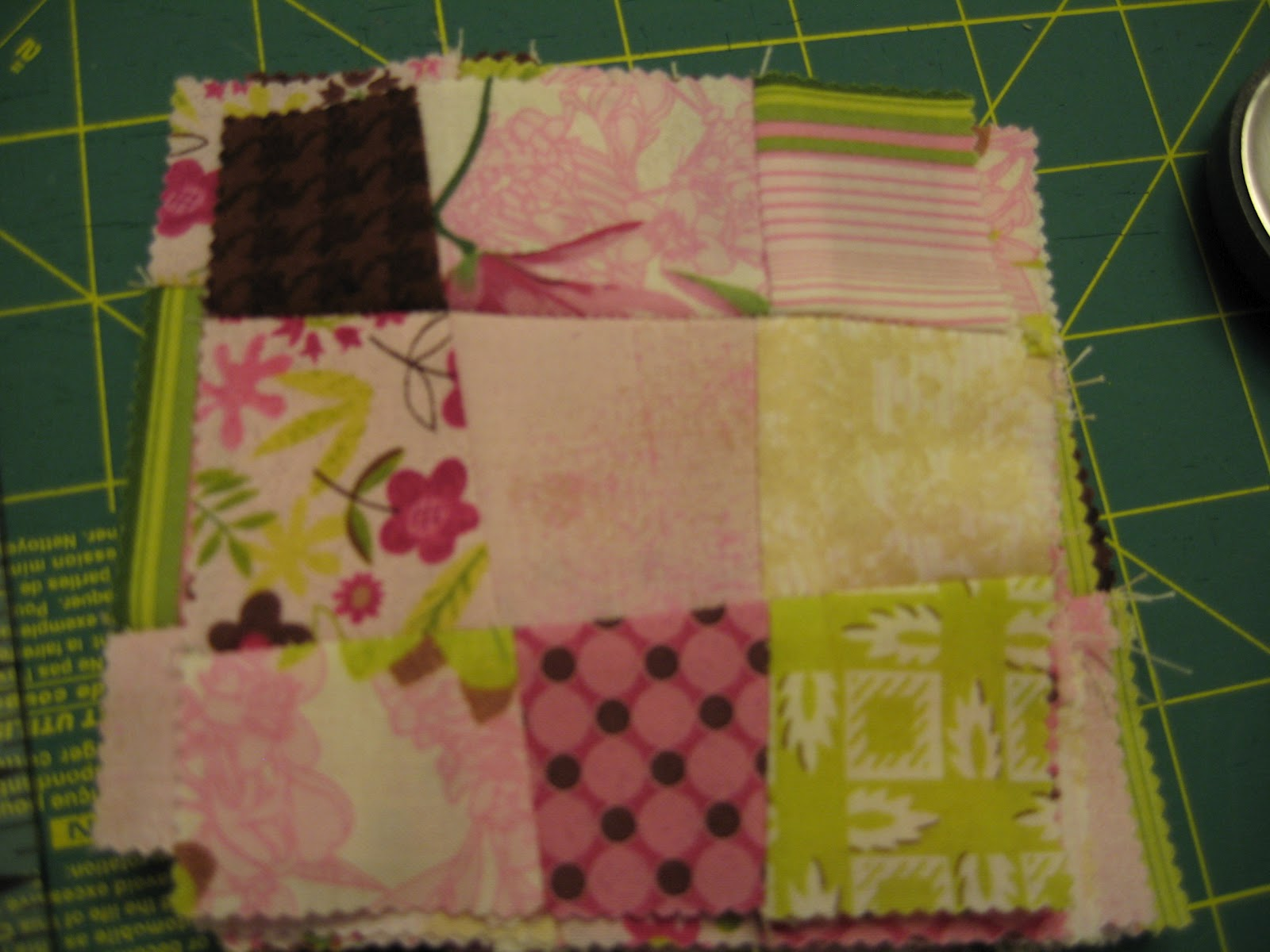 A Quilting Jewel: Tutorial - Charmingly Crazy Nine Patch Quilt : crazy nine patch quilt - Adamdwight.com