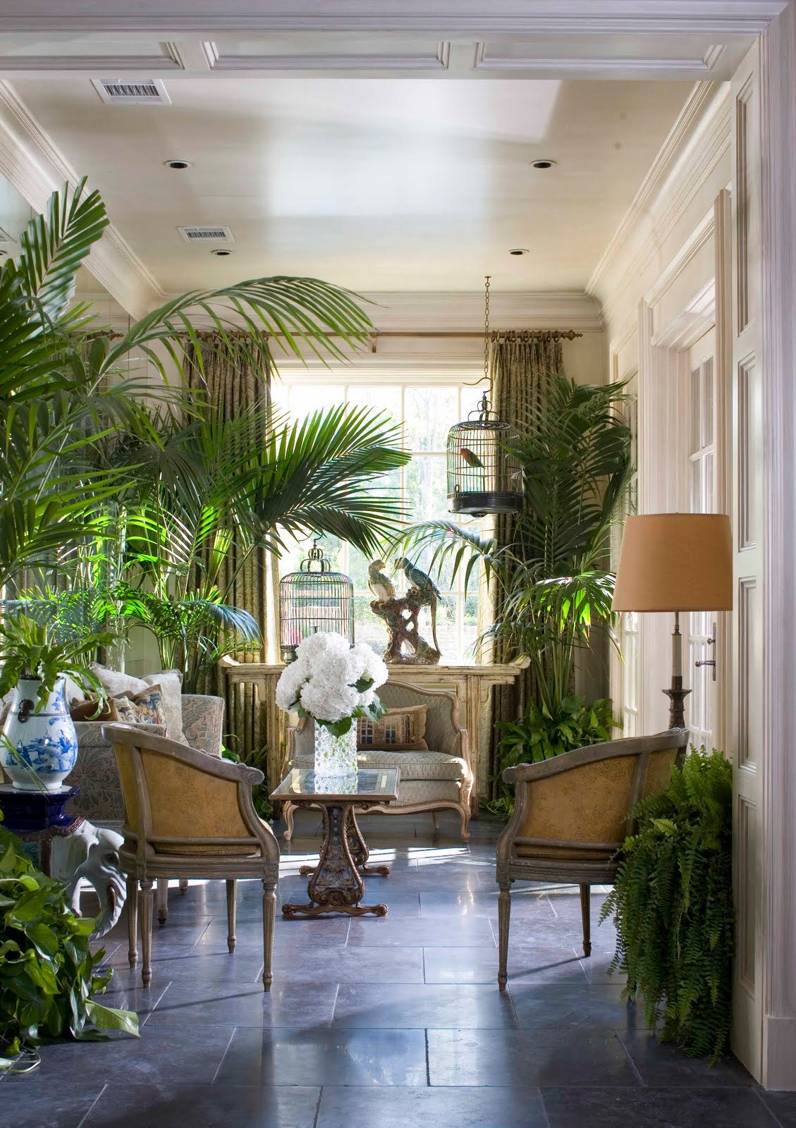 Birdcage Southern Accetn Showhouse Joe