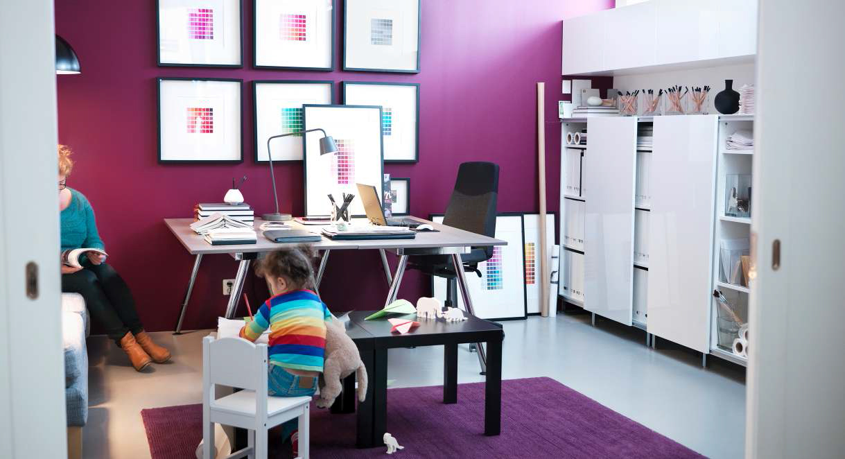 Ikea workspace organization ideas 2013 luxury lifestyle design architecture blog by ligia - Ikea office ideas photos ...