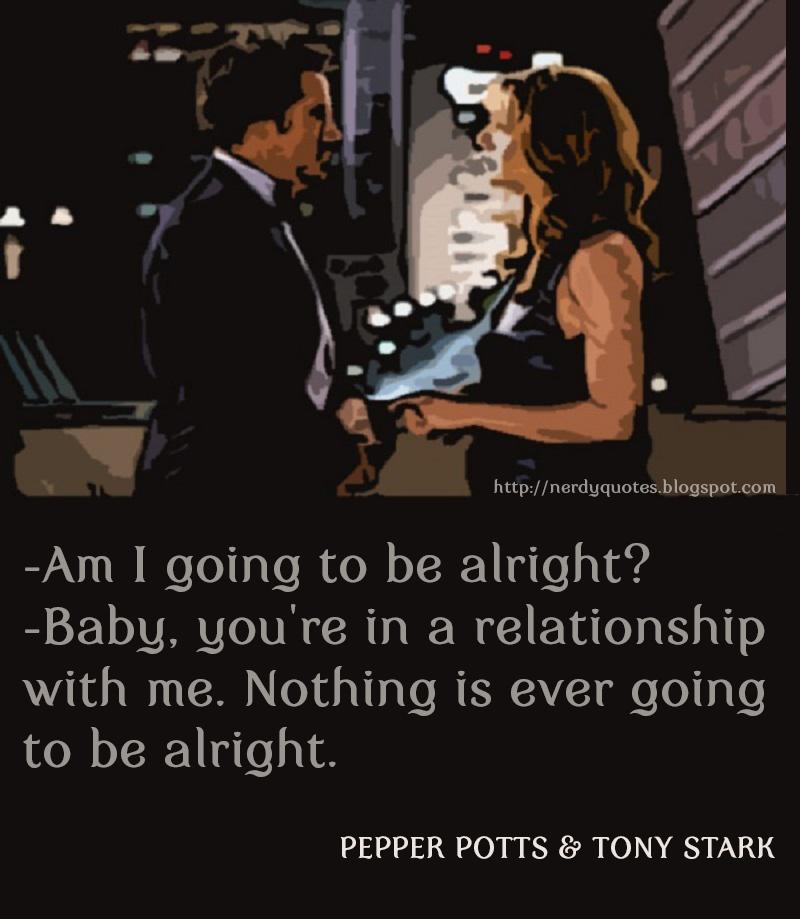 Third quote from Iron Man 3 Movie