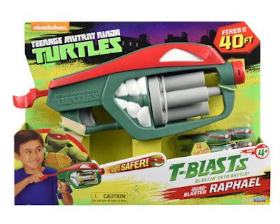 TOYS : JUGUETES - LAS TORTUGAS NINJA  TMNT | Teenage Mutant Ninja Turtles  T-Blasts - Quad-Blaster : Raphael | Pistola Producto Oficial 2016 | A partir de 4 años Comprar en Amazon España & buy Amazon USA