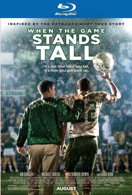 When the Game Stands Tall (2014) - bluray poster
