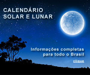 CALENDÁRIO SOLAR E LUNAR