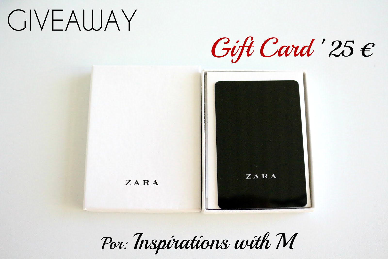 GIVEAWAY - Gift Card 25€