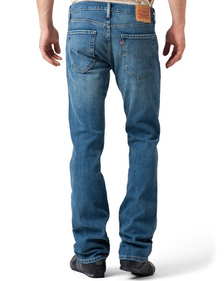 Mens levis 527 low rise bootcut jeans ndash Super Jeans in