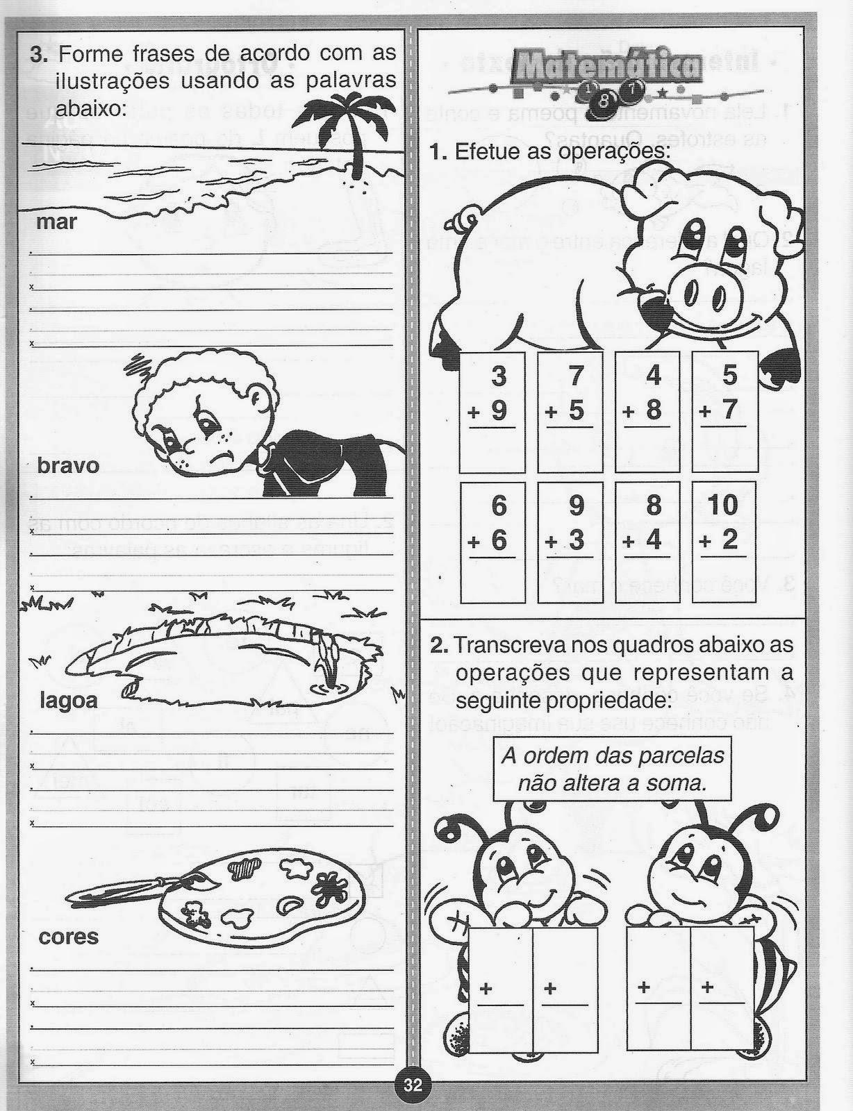 70 Atividades De Alfabetização Ed Infantil Pré Creche Bau De