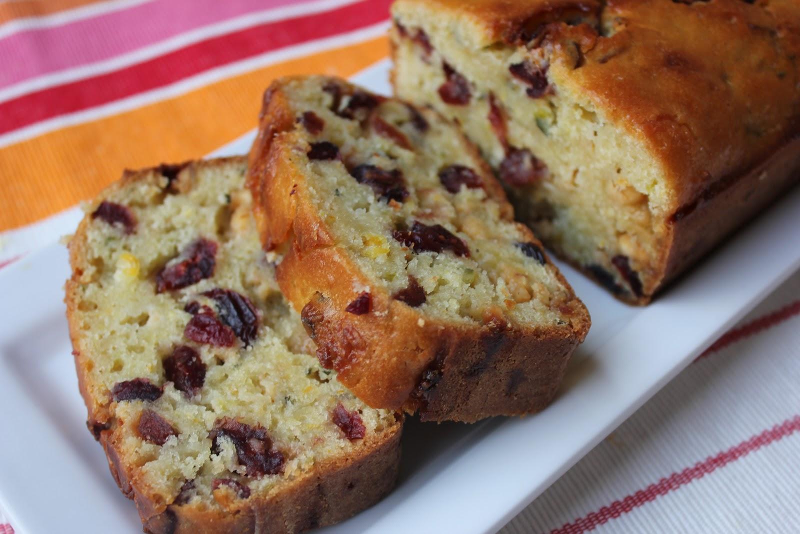 Deals to Meals: Orange Cranberry White Chocolate Zucchini Bread