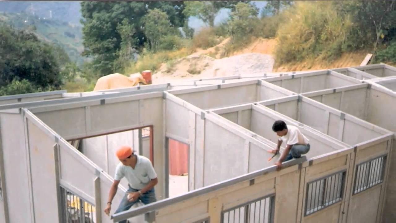 Casas prefabricadas en bogota colombia construccion y - Casas prefabricadas por modulos ...