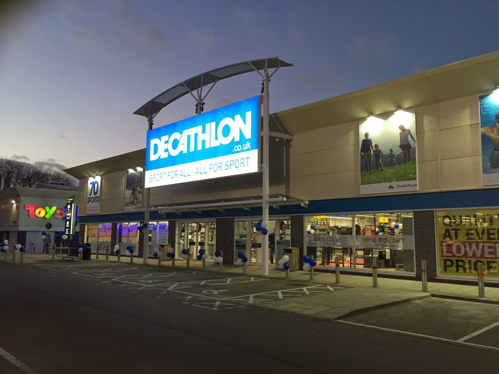 Decathlon Harlow