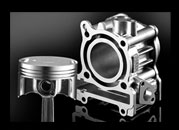 Diasil Cylinder and Forged Piston