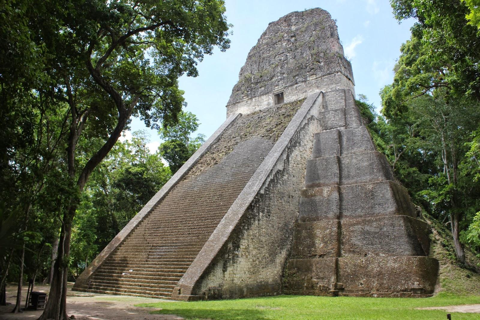 pyramide Guatemala Tika
