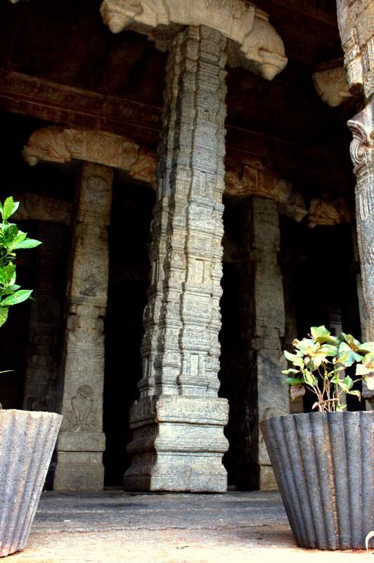 pilar tergantung