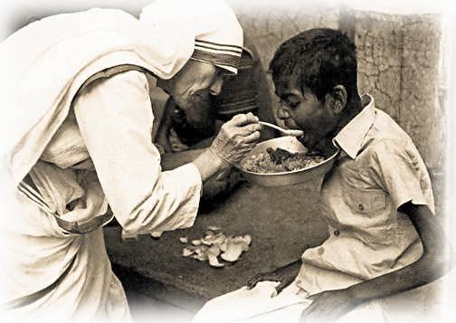 Saber partilhar os benef�cios da alma