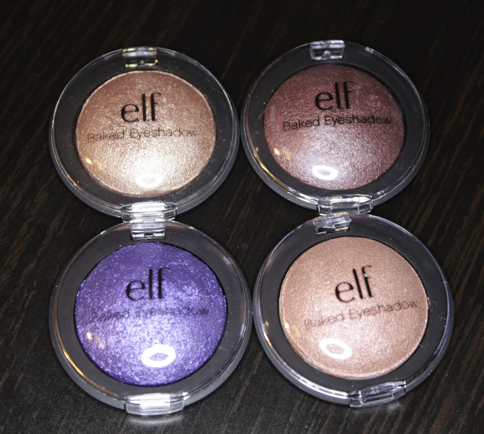 ELF Baked Eyeshadows