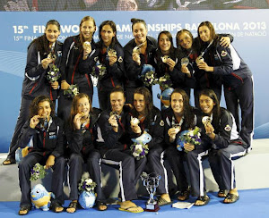 Spain - World Champion Women, Barcelona 2013