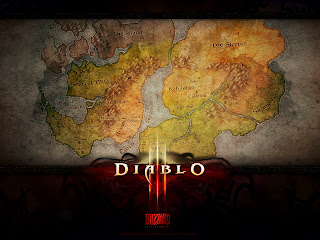 Diablo III Sanctuary Map HD Desktop Wallpaper