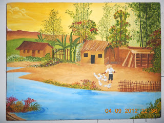 Wholesale Glass Painting Natural Scenery-Buy Glass Painting
