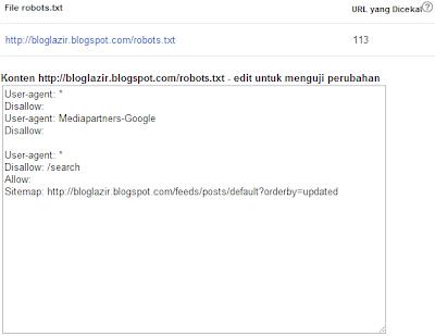 perayapan-url-yang-dicekal-bloglazir.blogspot.com